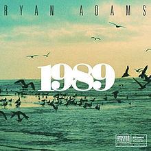 Ryan Adams 1989 cover